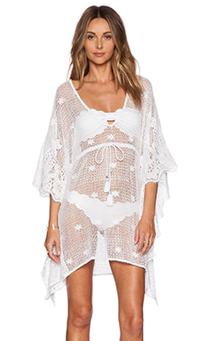 Miguelina Petra Short Dress in White