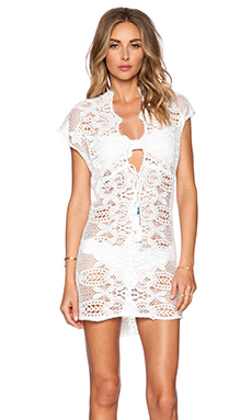 Miguelina Lina Dress in Pure White