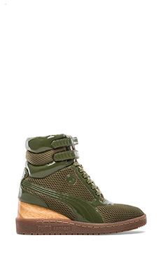 Puma by Mihara MY-77 D2 Sneakers in Burnt Olive