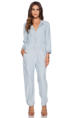 MiH Jeans The Arconaut Jumpsuit in Desert Denim