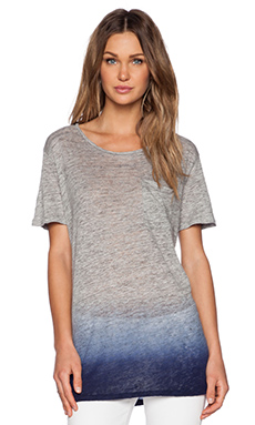 MiH Jeans The Tomey Tunic in Iris Blue Dip