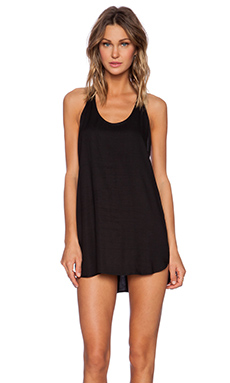 MIKOH Kokomo Racerback Mini Dress in Night