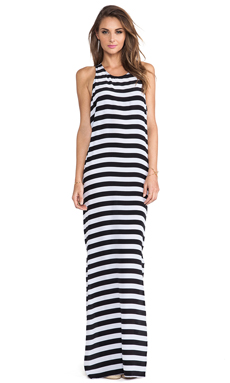 Mikoh Swimwear Mavericks High Neck Maxi Dress in Swell