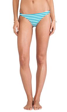 Mikoh Swimwear Lahaina Extra Skimpy Bottom in Caribbean Swell