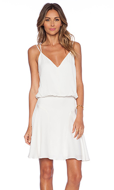 MILLY Tank Dress in White