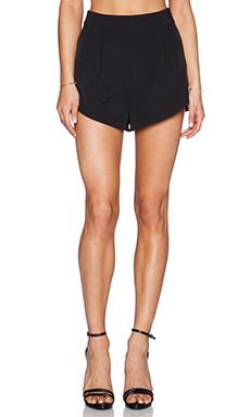 MILLY Petal Short in Black