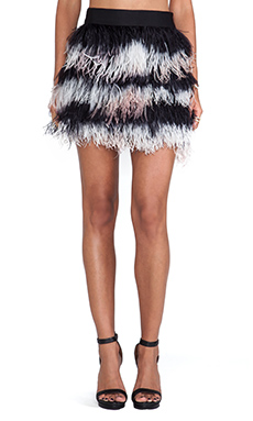 MILLY Ombre Feather Mini in Blush