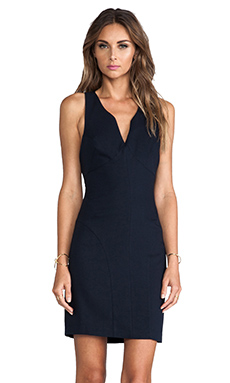 MM Couture by Miss Me Open Back Sleeveless Dress in Navy