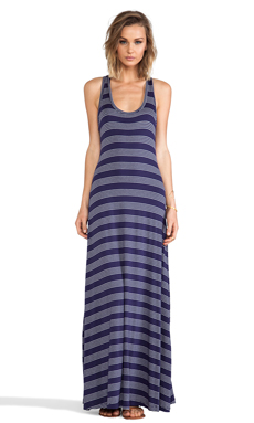 MM Couture by Miss Me Maxi Dress in Blue