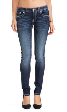 Miss Me Jeans Skinny in DK 286