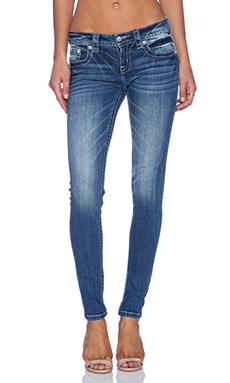 Miss Me Jeans Skinny in MED 254