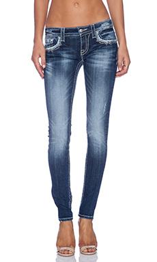 Miss Me Jeans Skinny in MED 237
