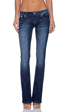 Miss Me Jeans Bootcut Jean in DK 323