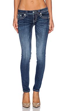Miss Me Jeans Skinny Jean in MED 262