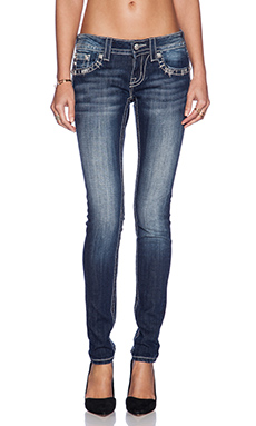 Miss Me Jeans Skinny Jean in DK 306