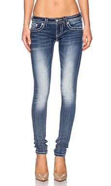 Miss Me Jeans Skinny in Med 291