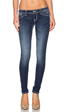 Miss Me Jeans Skinny in Dk 346