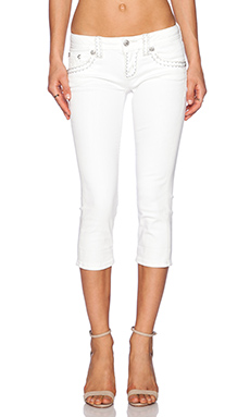 Miss Me Jeans Capri in WT 01