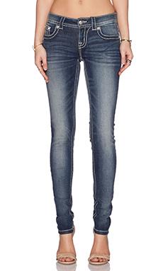 Miss Me Jeans Super Stretch Skinny in MK 394