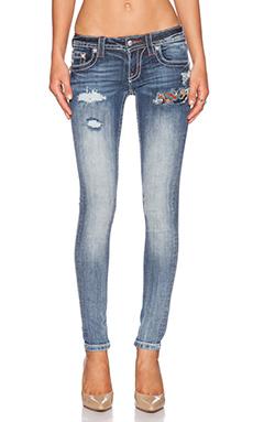 Miss Me Jeans Skinny in MED 293