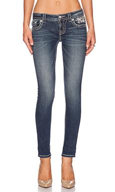 Miss Me Jeans Cuffed Skinny in MK 392