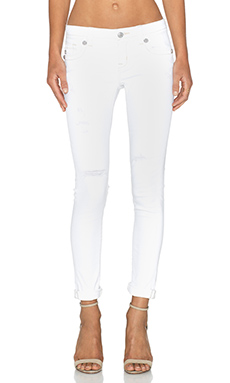 Miss Me Jeans Cuffed Skinny in WT 01