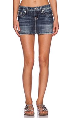 Miss Me Jeans Skirt in DK 312
