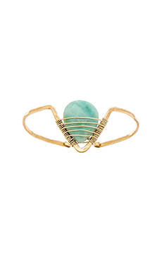 Mimi & Lu Michaela Cuff in Blue Jade