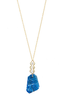 Mimi & Lu Nora Necklace in Lapis