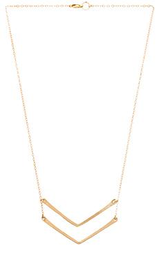 Mimi & Lu Chervon Necklace in Gold