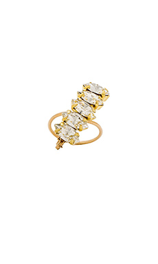Mimi & Lu Esther Ring in Gold