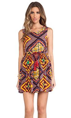 MINKPINK Moroccan Tile Dress in Multi