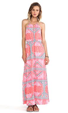 MINKPINK Eastern Aztec Maxi Dress in Multi