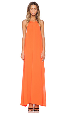 MINKPINK Mystic Animalia Maxi Dress in Orange