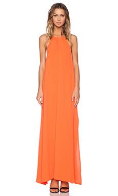 MINKPINK Mystic Animalia Maxi Dress in Orange