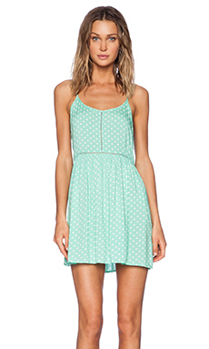 MINKPINK Polka Dress in Mint