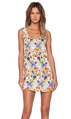 MINKPINK Wild Keepsake Tank Dress in Multi