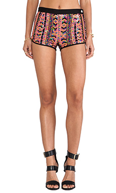 MINKPINK Get Rhythm Short in Multi