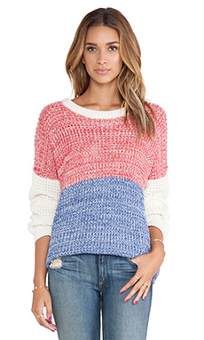 MINKPINK Frosty Heat Pullover in Multi