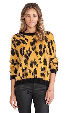MINKPINK Wild Jungle Fuzzy Knit in Multi