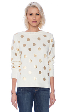 MINKPINK Strange Days Pullover in Cream