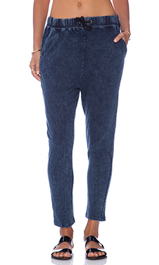 MINKPINK Work It Out Jogger in Midnight Indigo