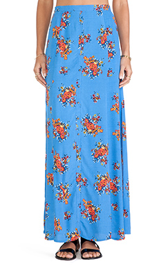 MINKPINK Believe It Maxi Skirt in Multi