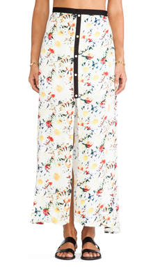 MINKPINK Fool For You Maxi Skirt in Multi
