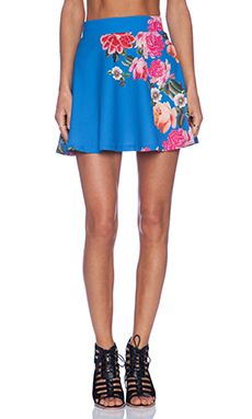 MINKPINK Vladimir's Girl Skater Skirt in Multi
