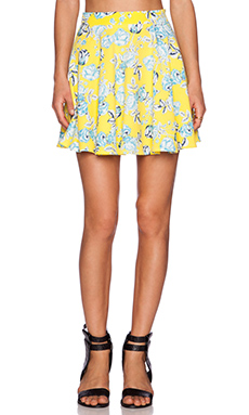 MINKPINK Citrus Floral Skirt in Multi
