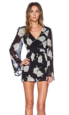 MINKPINK Oriental Bloom Playsuit in Multi