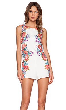 MINKPINK Climbing To Success Playsuit in Multi