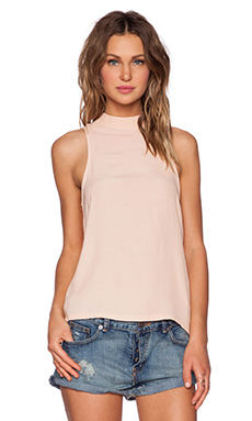 MINKPINK Freedom Writers Tank in Blush