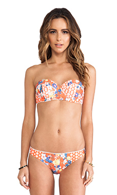 MINKPINK Orange Blossom Bra Cup Top in Multi
